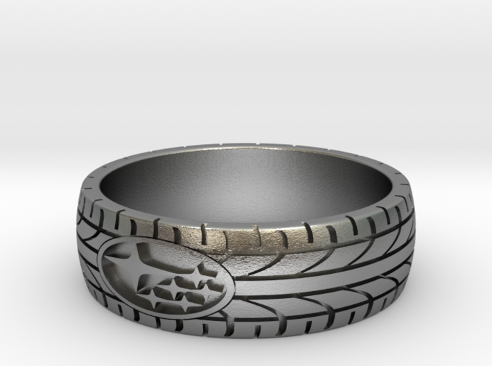 SUBARU ring size 23 mm (US 14) 3d printed