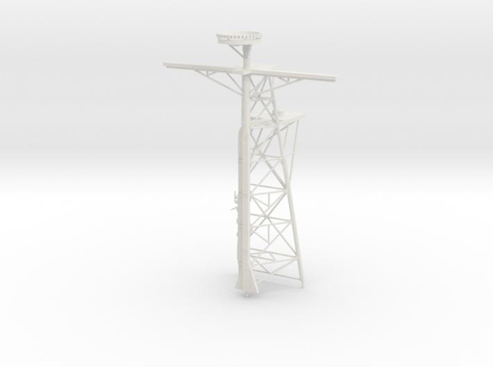 1/96 Scale Ticonderoga Mast #2 - Tall mast 3d printed