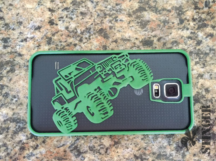 Off-Road Phone Case - Galaxy S5 3d printed