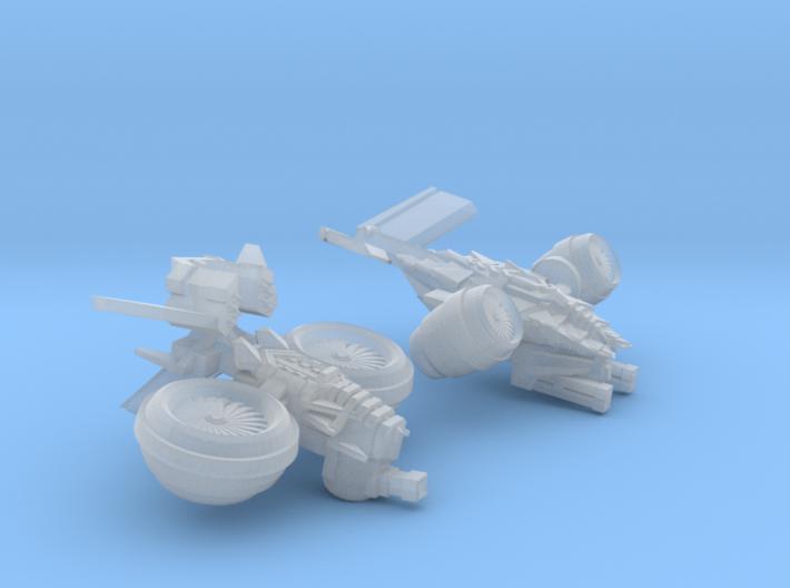 MOD S DF-VTOLs 3d printed