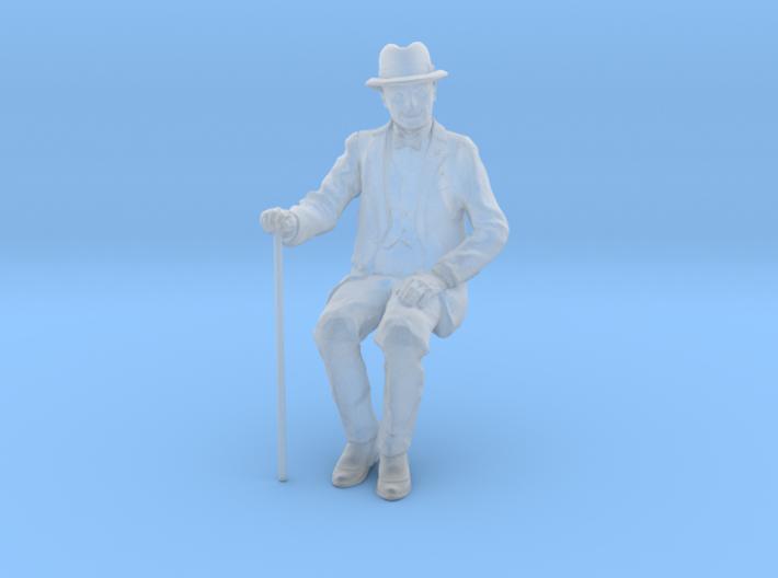 1:32 scale David sitting FUD 3d printed