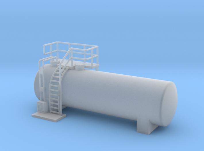 N Scale Diesel Storage Tank v3 (FUD) 3d printed