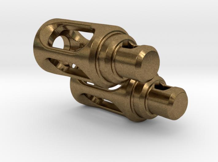 Tritium Earrings 3 (3x11mm Vials) 3d printed