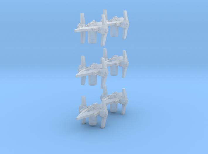 Arm 6 V Fighter 3d printed