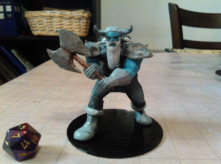 Frost Giant 3d printed