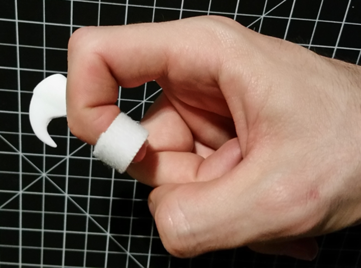 Wearable Cat Claw (Single Claw) 3d printed