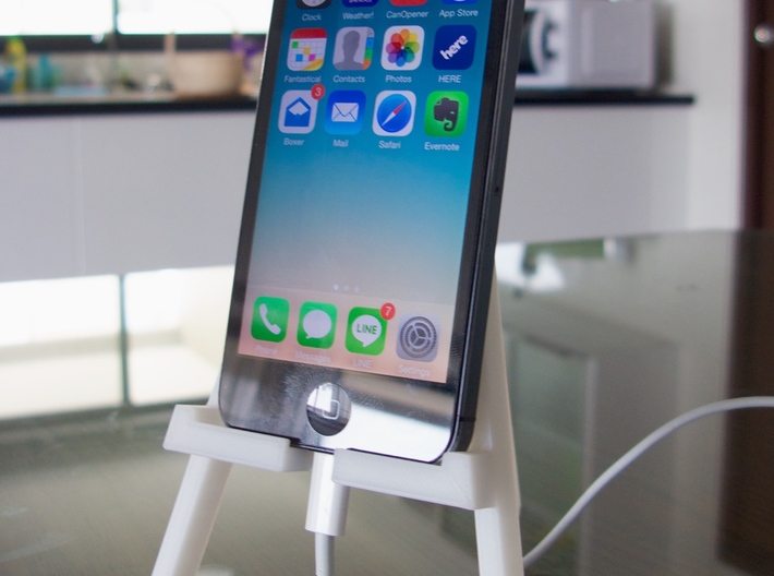 IPhone 5 Easel 3d printed