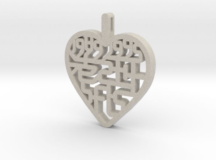SFLS Class Pendent Large 3d printed