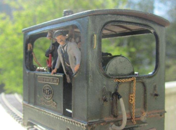 1:45 Tramway loco (without wheels) Backer & Rueb 3d printed Model by Yvo Underwater