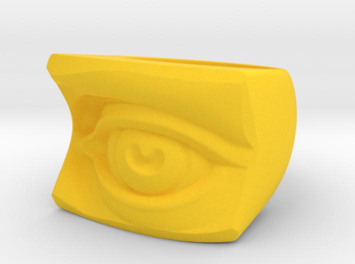 David's Eye Ring 3d printed