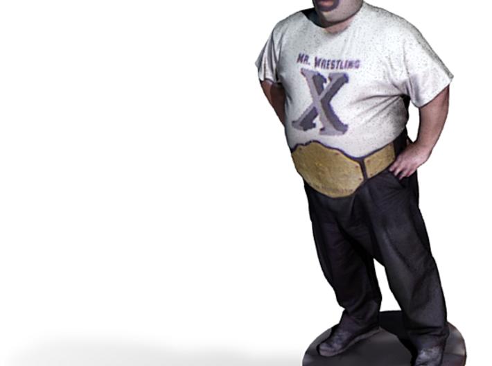 Mr. Wrestling X 3d printed