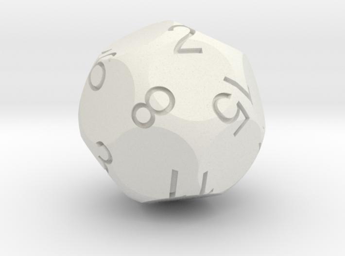 D16 Tetra Sphere Dice 3d printed