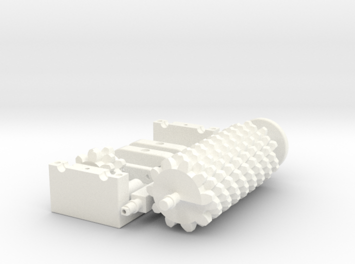Irrational Gears 3d printed