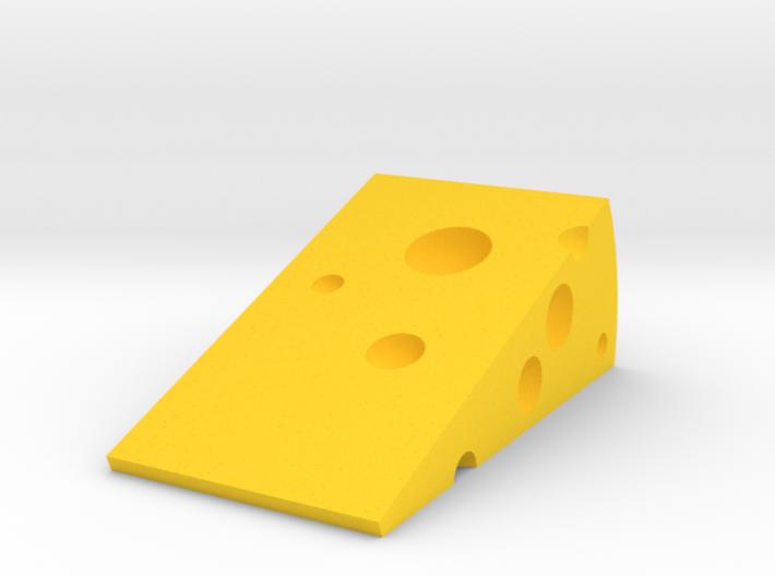 Cheese Door Stopper 3d printed