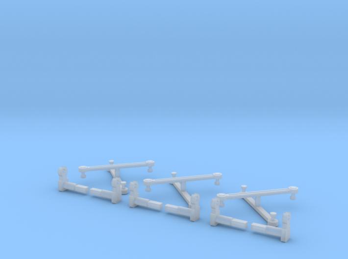 Rowa/MRC 2-8-8-2 Eccentric Rods & Parts N Scale 3d printed