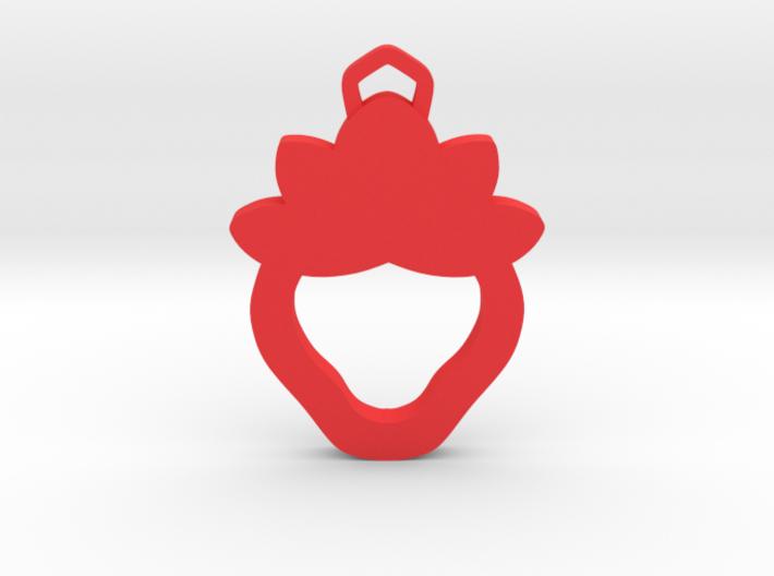 Strawberry Kudos Pendant 3d printed