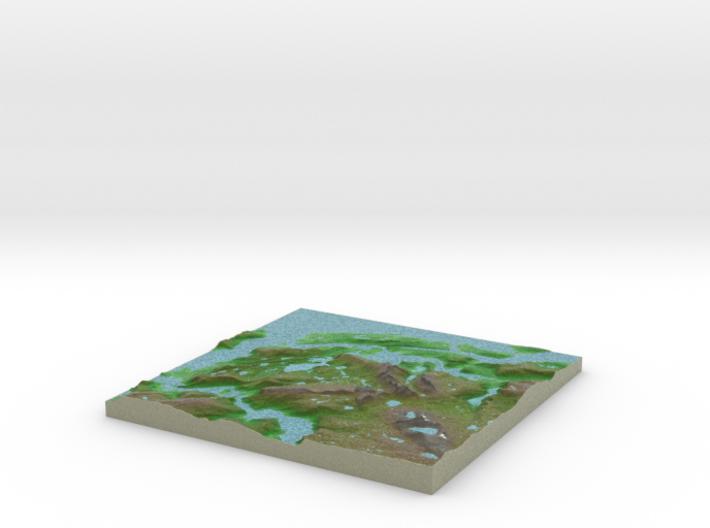 Terrafab generated model Wed Jan 20 2016 10:25:40 3d printed