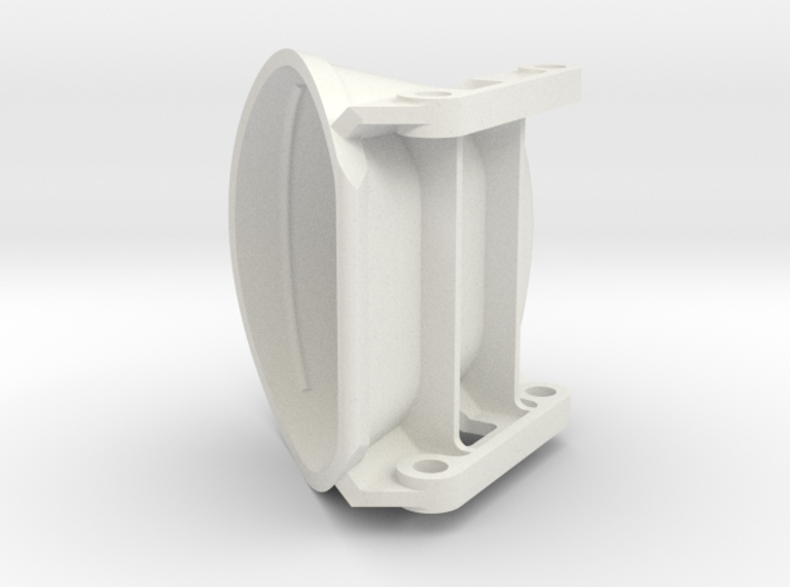 Bagger Emmer Wegasta Holland 3d printed White Strong & Flexible
