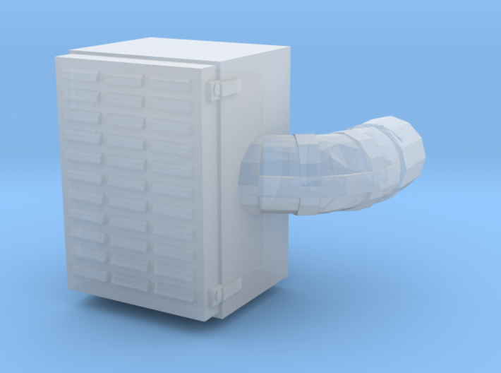 1/50th Farr type Square Vintage Air Cleaner 3d printed