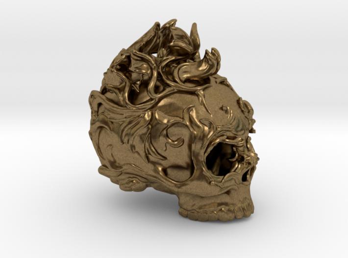 Skull01 Ornamental01 3d printed