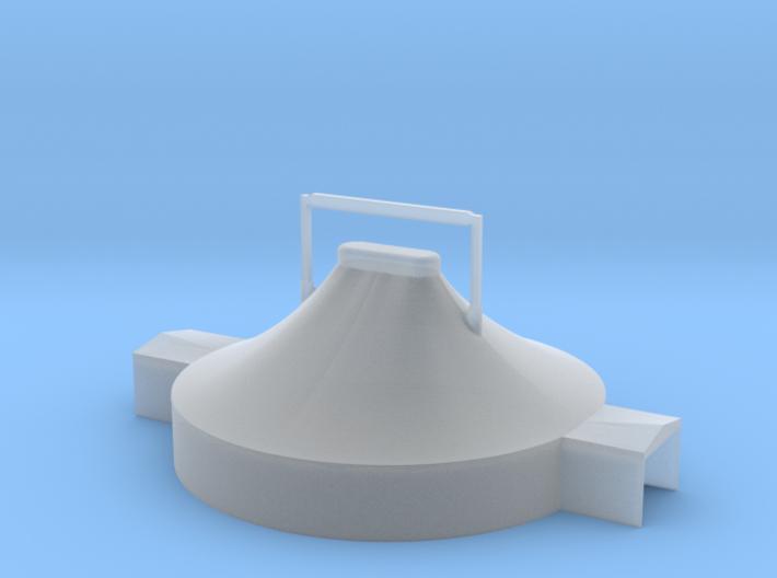 Zelt 18 Meter - 1:220 (Z scale) 3d printed