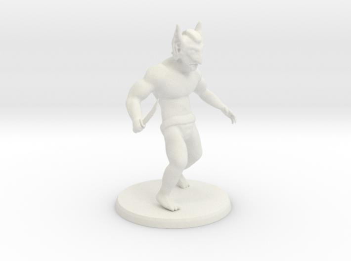 Goblin Shanker 3d printed