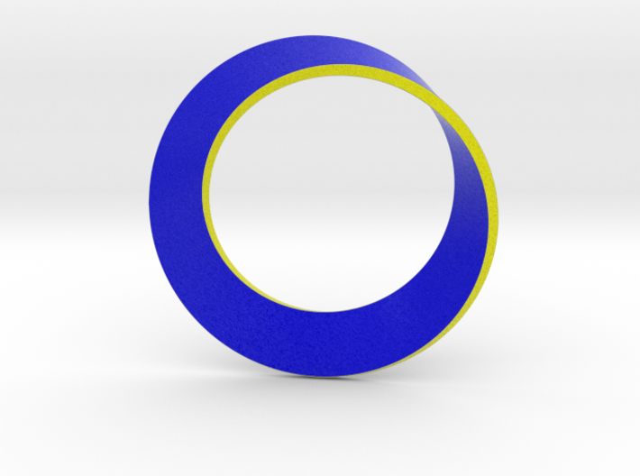 0154 Mobius strip (p=1, d=10cm) #002 3d printed