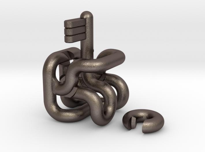 Tube Maze - metal 3d printed