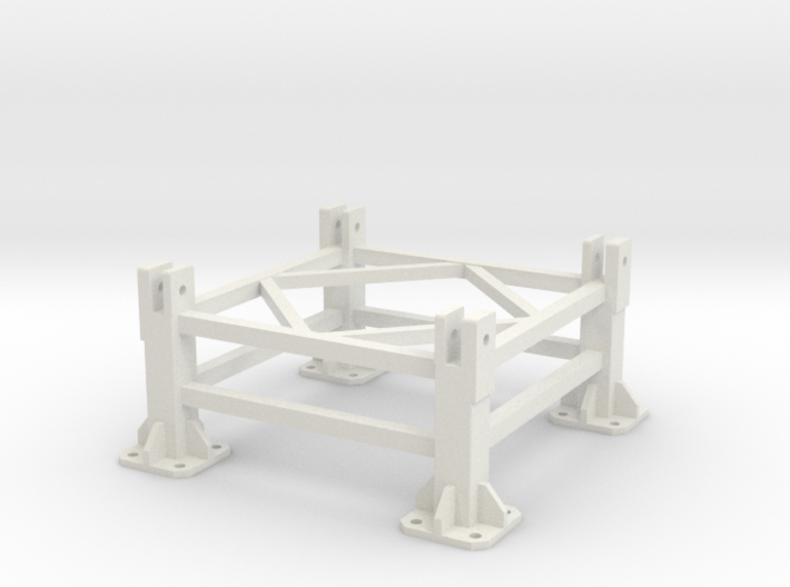 Liebherr 630EC-H 40 Fundaction foot (on concrete) 3d printed