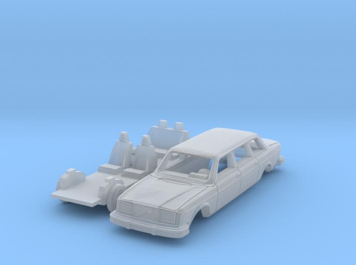 Volvo 264 TE (N 1:160) 3d printed