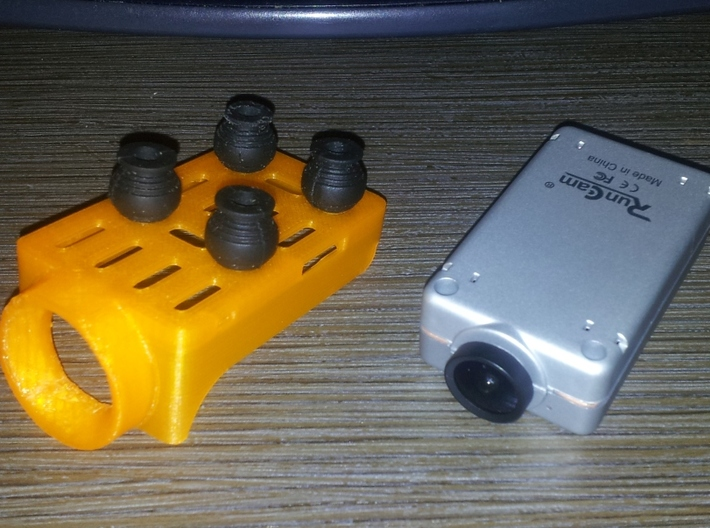 RuncamHD holder and protection for ZMR250 3d printed