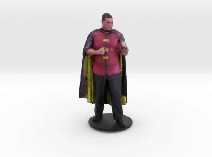 Kal Stegetzel As Medieval Robin 3d printed