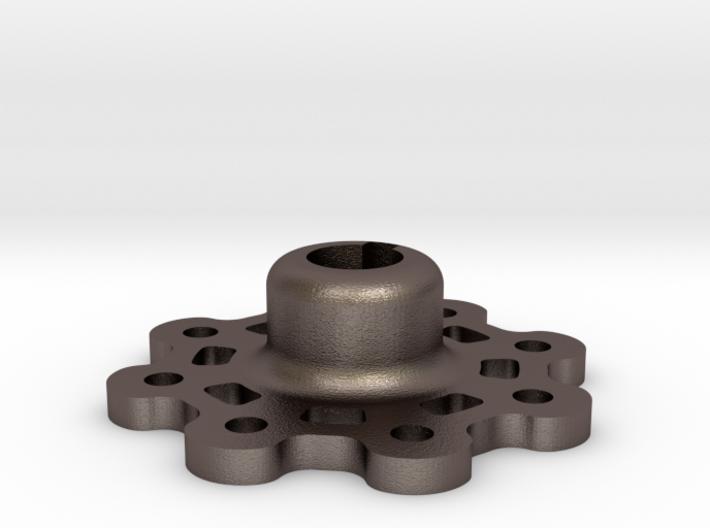 Mid Strength Wheel Hub (17 mm) 3d printed
