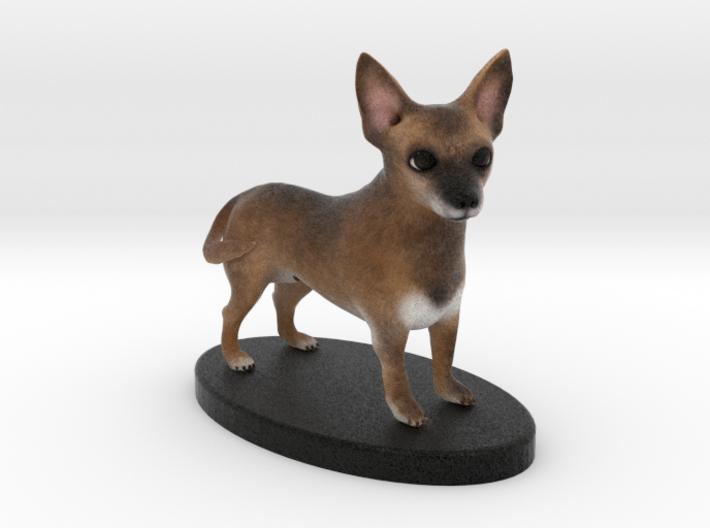 Custom Dog Figurine - Degrassi 3d printed