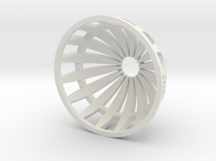 Grow Media Basket (Version 2) - 3Dponics 3d printed