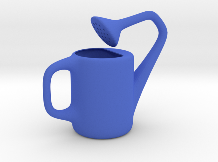The Uncomfortable Watering Can (10cm height) 3d printed