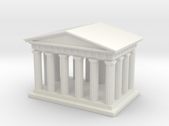 Mini Greek Temple 3d printed