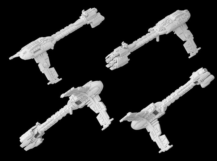 (Armada) Modified Nebulon B2 Frigate 3d printed