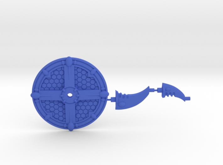 Base for Eldar Battleships 3d printed