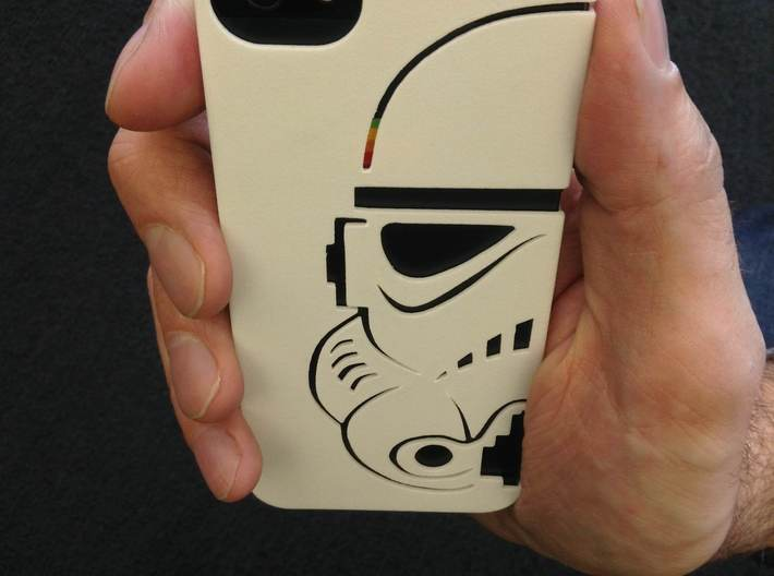 Stormtrooper Iphone 5 case 3d printed Great Pictures from duann.