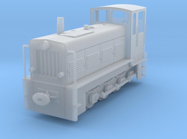 NS 4 Deutsche Reichsbahn DR H0e 3d printed