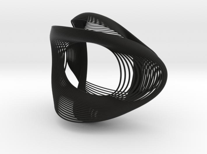 Sine Bracelet 3d printed