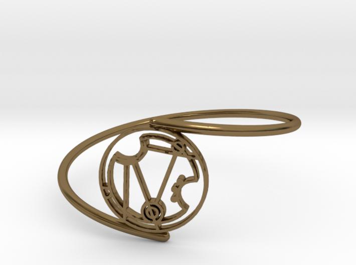 Nerissa - Bracelet Thin Spiral 3d printed