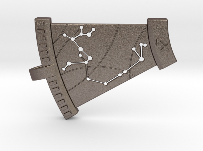 Sagittarius Constellation Pendant 3d printed