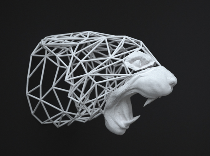 Wired Life Tiger Medium 3d printed