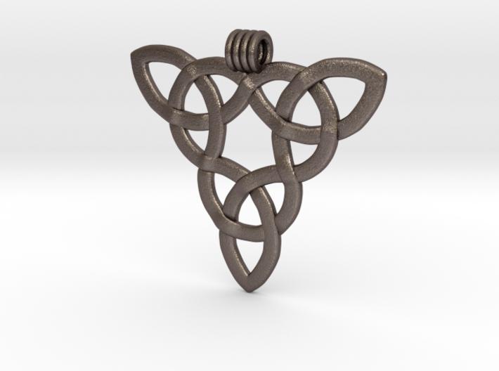 Triquetta Pendant 3 3d printed