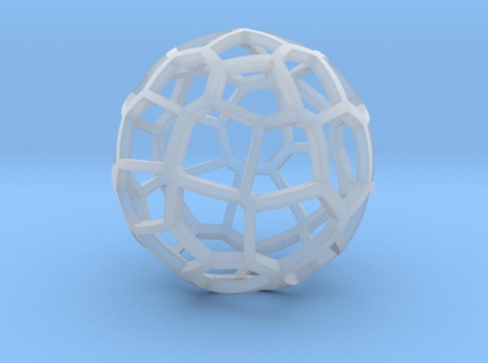 Voronoi sphere 2 3d printed