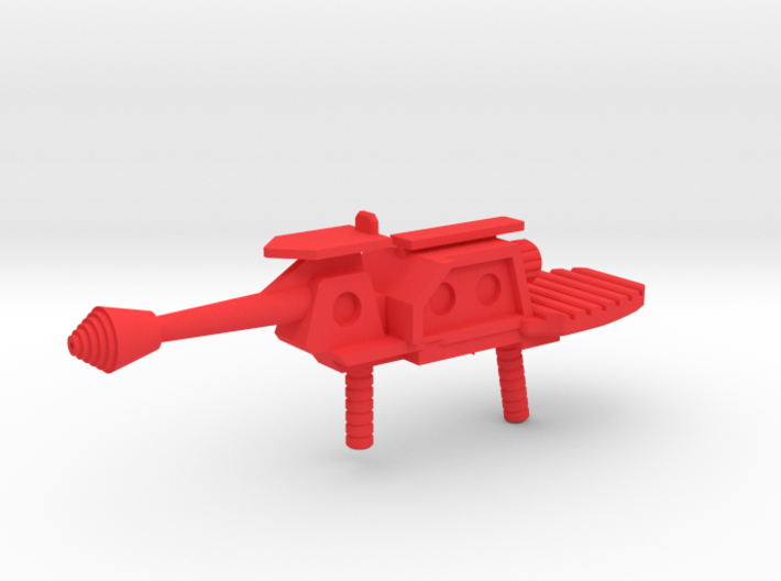 Prototype Turret Cannon Rifle 3d printed