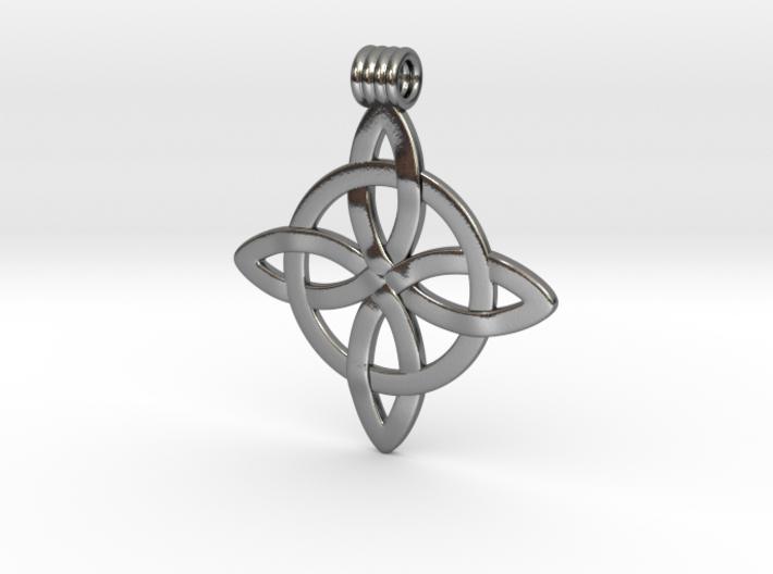 Celticknot Pendant5 3d printed