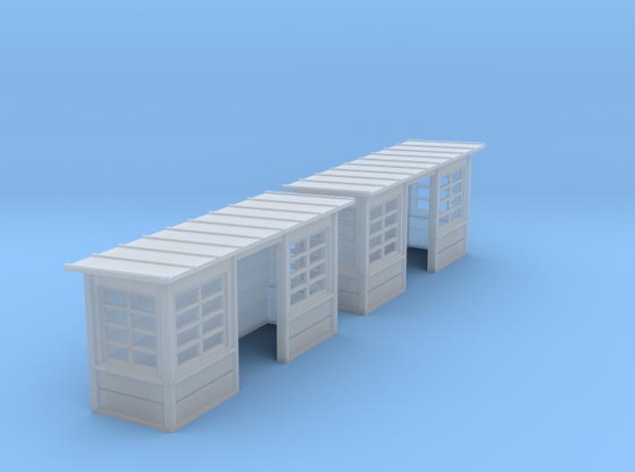 N_Abris béton (2ex) (1/160) 3d printed